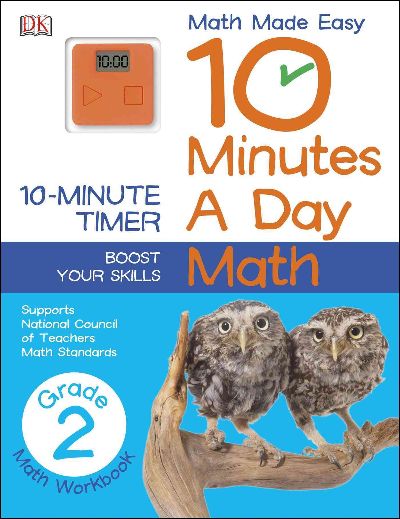 10 Minutes a Day: Math Grade 2 By Dorling Kindersley, Inc. (COR)